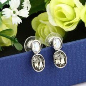 NWOT Swarovski Diva Moonlight Earrings